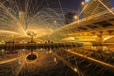 Incredible Light Painting Portrait in Seoul - My Modern Metropolis