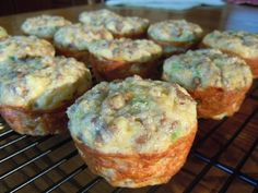 Sausage, egg and cheese muffins- 2- 4 WW Pts+ depending on how you make them.  This site has wonderful WW recipes!!  These were good, but had a little too much garlic powder.