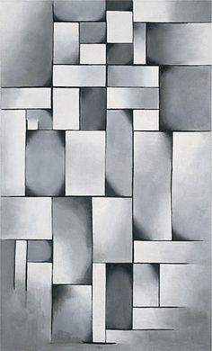 Theo van Doesburg Composition in Gray