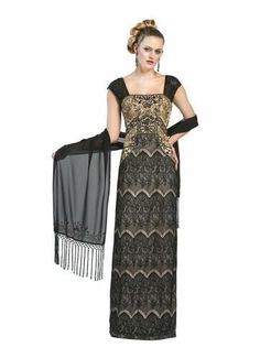 SUE WONG NEW Beaded Lace Overlay Full-Length Evening Dress Gown BHFO in Dresses | eBay