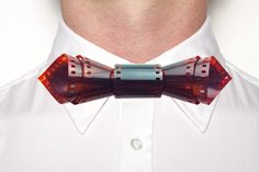 Amazing Bow Tie by Nicholas Tee Ruiz. http://www.kickstarter.com/projects/1062328988/modern-bow-ties-wearable-neck-art-by-nicholas-tee?ref=card