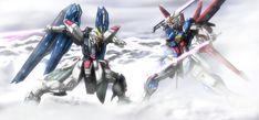 Arte Gundam, Gundam Art, Gundam Seed, Mecha Anime, Most Favorite, Sci Fi, Cosmic, Destiny, Armors