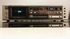 Teac V 4RX Cassette Deck Parametric Equalizer DBX Dolby Fluro Meters