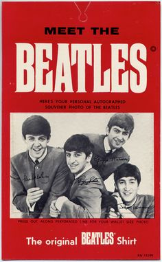 1964 hang tag for 'The Original Beatles Shirt'