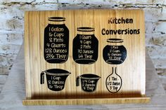 Kitchen Conversion Book Stand
