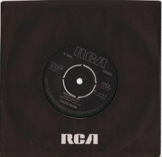 "David Bowie, ""Alabama Song"" 45, 1980"