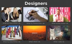 How People Perceive Me - Designers