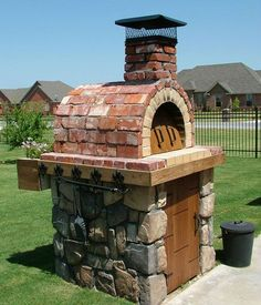 This is the one I will build as part of my outdoor smoker/grill/fireplace.  The Moon Family Wood Fired DIY Brick Pizza Oven in Oklahoma - BrickWood Ovens