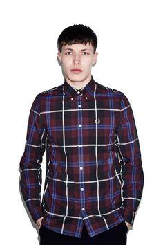 Modernist Check Shirt