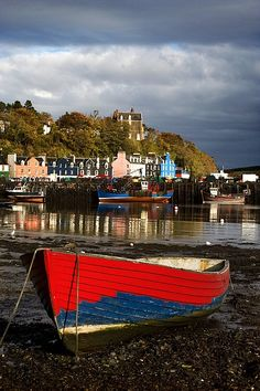 TOBERMORY; Isle of Mull, Scotland...where we met the man who bought and lives in the lighthouse keepers house!