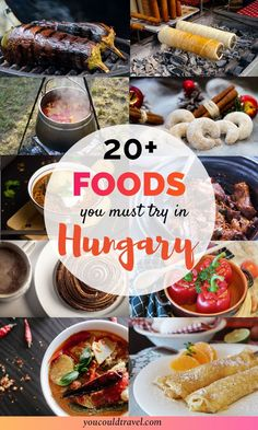 Traditional Hungarian Food You Need To Try - When it comes to Hungarian food, there isn't just one specific course you should aim for but instead you can enjoy a whole culinary affair. Visit Budapest, Budapest Travel, Budapest Hungary, Hungary Food, Hungary Travel, Hungarian Recipes, Hungarian Cuisine, Croatian Recipes, European Travel