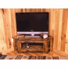 Weathered Wood Rustic Tv Stand For That Rustic Barnwood