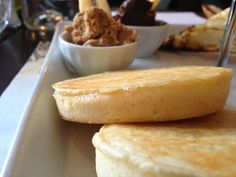 Crumpets at Regine Cafe, Montreal