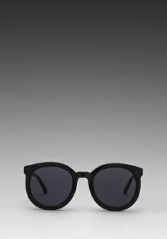 bd9d812f587 KAREN WALKER Super Duper Strength in Black at Revolve Clothing - Free  Shipping! Buy Sunglasses
