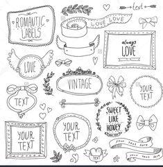 PLANNER HEADERS - Imagen de doodles and planner