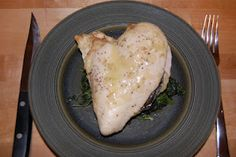 Does Not Cook Well With Others: Gruyere and Sage-Stuffed Chicken Breasts