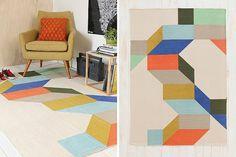 "Easy ways to ""Color Block your Rooms"" via @Brit Morin"