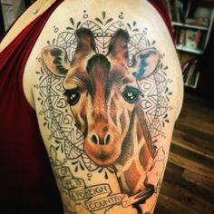 Top 100 giraffe tattoo | 4develop