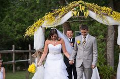 Florida Farm Wedding - yellow