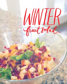 The Chicest Winter Fruit Salad You'll Ever Make