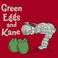 """shirtoid: Green Eggs and Kane available at RedBubble """"Would you like them out in space? Would you like them in your face?"""" OMFG this is f*cking RAD Predator Movie, Alien Vs Predator, Aliens Movie, Aliens And Ufos, Saga, Best Sci Fi Movie, Movie Tv, Alien Photos, Giger Alien"""
