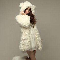 Abrigo oso / bear coat wh001