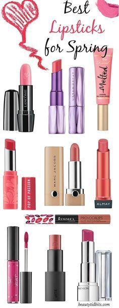 Best spring lipsticks