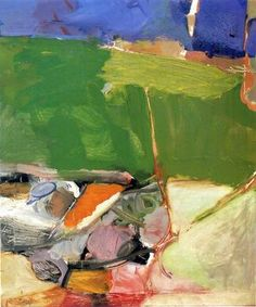 Richard Diebenkorn - Berkeley #33 , 1954. Oil on pape