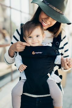 Ergobaby Four-Position 360 in Pure Black : Featuring Four Ergonomic Carrying Positions