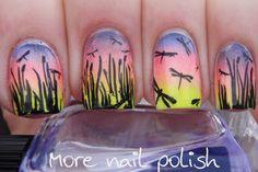 More Nail Polish: Dragonflies  <3 @