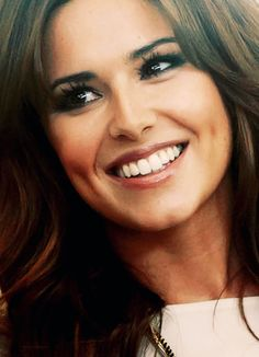 Cheryl .Her eyes are so beautiful and that smile