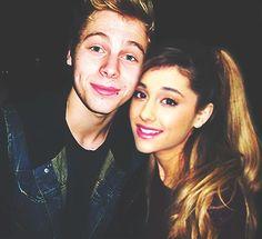 Luke Hemmings and Ariana Grande edit