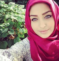 Beautiful eyes #hijab