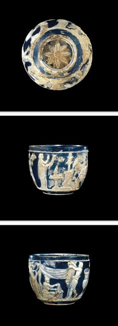 The Morgan Cup - Roman Empire, probably Italy. Date: 1-99 A.D. | The Corning Museum of Glass.