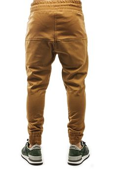 ARSNLThe Renner Dropcrotch Jogger Pant in Camel Canvas « FLASHXHYPE