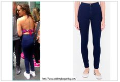 Best Dark Jeans as seen on Celebs - Jade Thirlwall is wearing the AMERICAN APPAREL Easy Jean, $78 USD. Some colors are on SALE and available for much less.