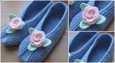 Beautiful Knitted Slippers – Arte Creativo