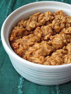 If you like peanutbutter cookies you're going to love this baked oatmeal recipe!