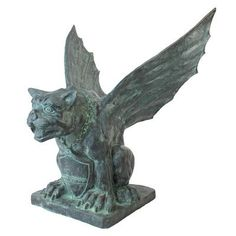 Design Toscano Winged Gargoyle of Naple Garden Statue