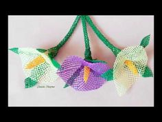 İğne oyaları sarmaşık çiçeği nasıl yapılır anlatımlı video - YouTube Eyeglass Holder, Irish Crochet, Wire Jewelry, Wire Wrapping, Diy And Crafts, Crochet Necklace, Embroidery, Stitch, Knitting