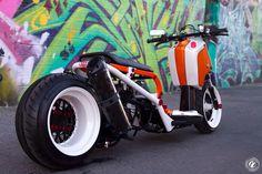 Another dopeass Honda Rukus.