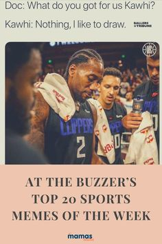 At the Buzzer's Top 20 Sports Memes of the Week  Here are the top 20 sports memes of the week ranked by At the Buzzer!  #Humor #Sports #NFL #MLB #NHL #NBA #PGA