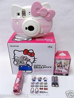 Nuevo ♪ Sanrio / Hello Kitty Instax Mini / Cámara Instantánea / From Japan Fujifilm in Objetos de colección, Dibujos animados y personajes, Personajes de dibujos animados | eBay