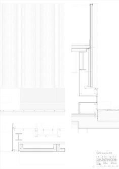 Since 1998 the Web Atlas of Contemporary Architecture Helene Binet, Nottingham Contemporary, Contemporary Architecture, Floor Plans, Architects, Projects, Presentation, Drawing, Blue Prints