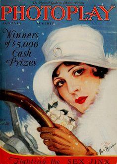 Olive Borden, Photoplay Magazine, January 1927