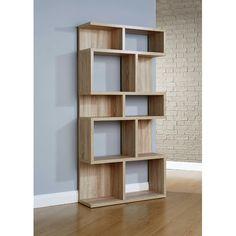 Furniture Essentials Pembroke Sonoma Oak Shelf Unit