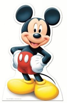 Mickey Mouse Life Size Cardboard Cut-Out