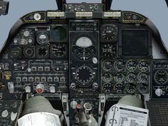 A10 Warthog cockpit