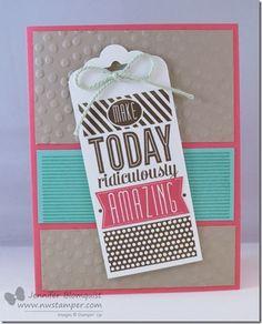 Amazing Birthday Card for a Fun n' Crafty Card Swap | Northwest Stamper