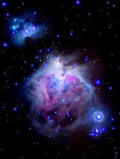 Nebulae combination of emission and reflection